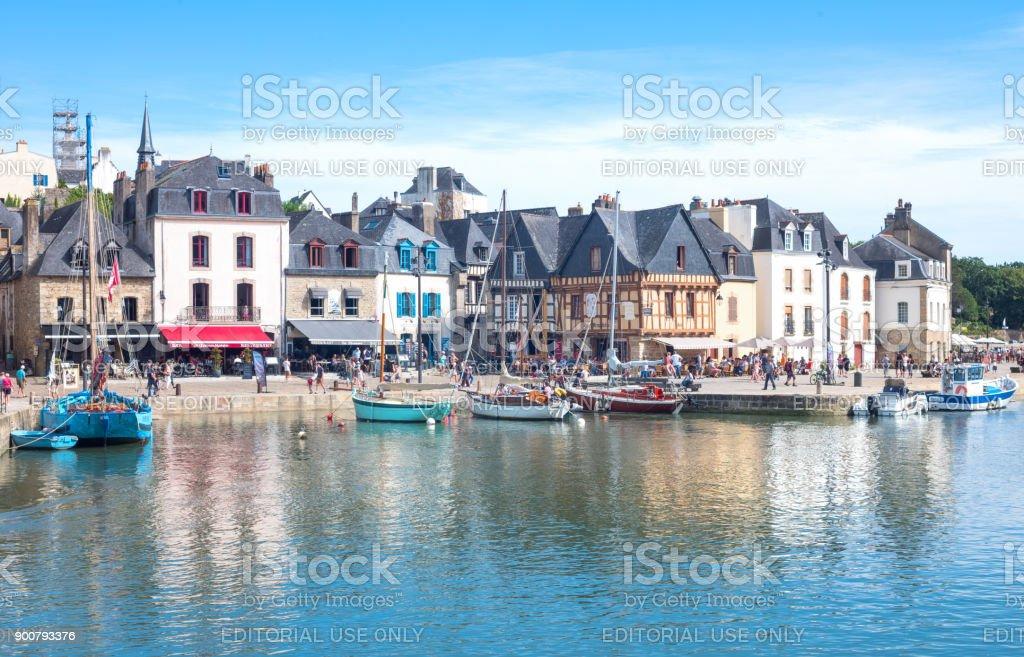 Paisajes y arquitecturas de Bretaña - foto de stock