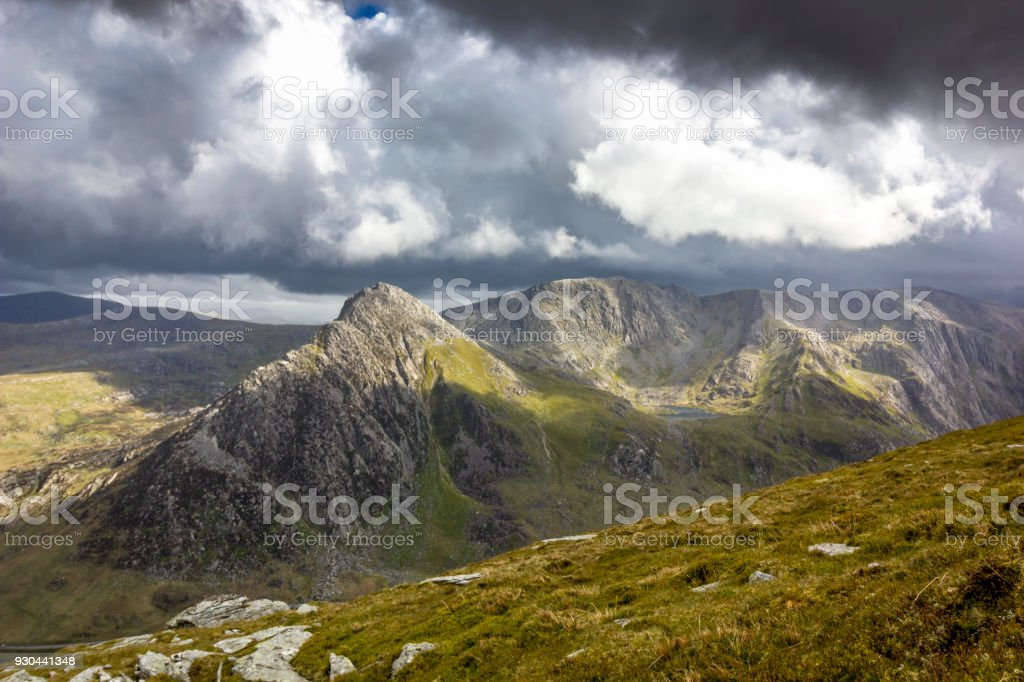 Landscapes and Nature in Snowdonia National Park, Wales, UK. stock photo