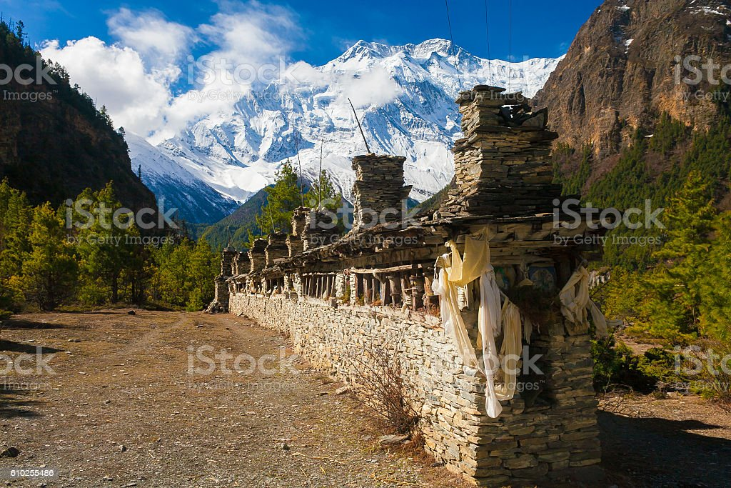 Landscapes Mountains Nature Morning Viewpoint.Mountain Trekking Landscape Background. Nobody стоковое фото
