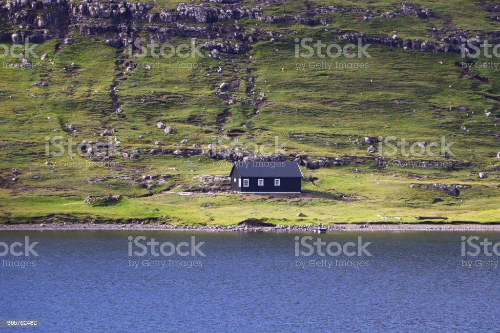 Landskap av Färöarna - Royaltyfri Fotografi - Bild Bildbanksbilder