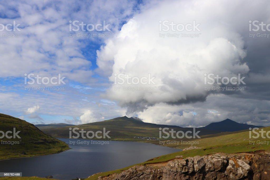 Landscapes of Faroe Islands - Royalty-free Beauty Stock Photo