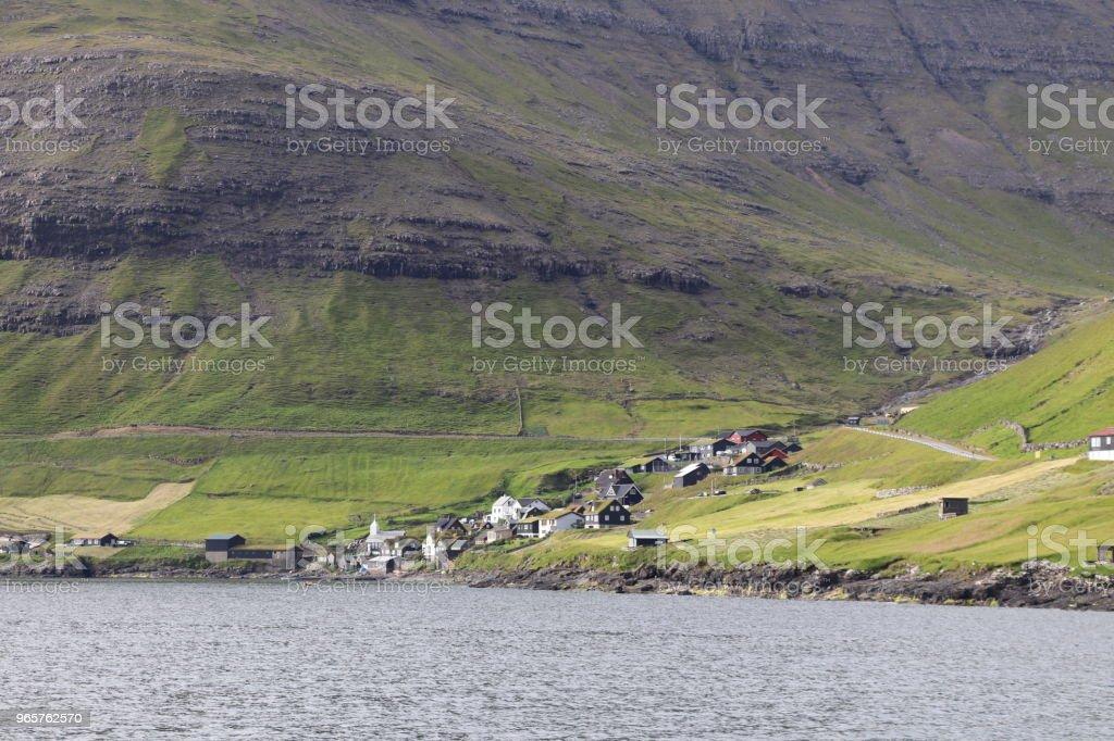 Landscapes of Faroe Islands - Royalty-free Ao Ar Livre Foto de stock