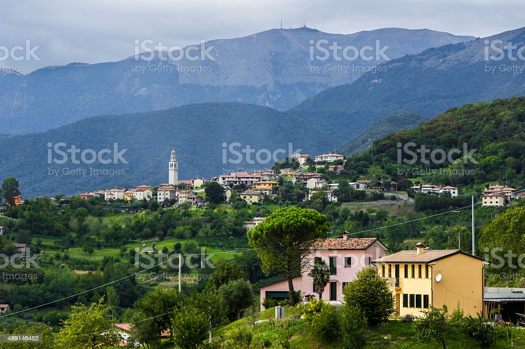 Landscapes of Italy stock photo