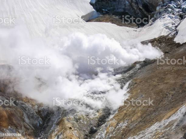Photo of Landscapes of Kamchatka, mountains and volcanoes of Kamchatka.