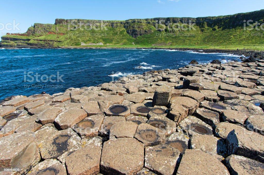 Paysages d'Irlande du Nord. Chaussée des géants - Photo