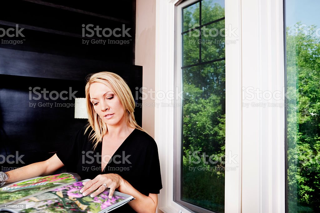 Landscaping ideas stock photo