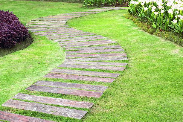 Landscaping in the garden the path in the garden picture id477666276?b=1&k=6&m=477666276&s=612x612&w=0&h=97s3rxamjnvwkze5 jjutjdmqymr9ucszakeshclib8=