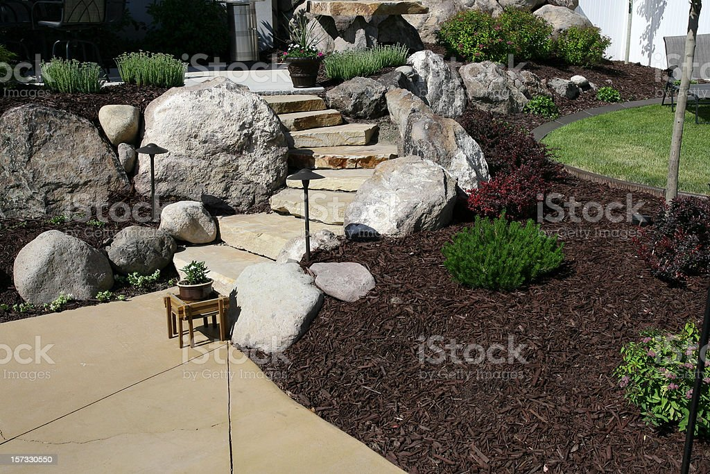 Landscaping Series royalty-free stock photo