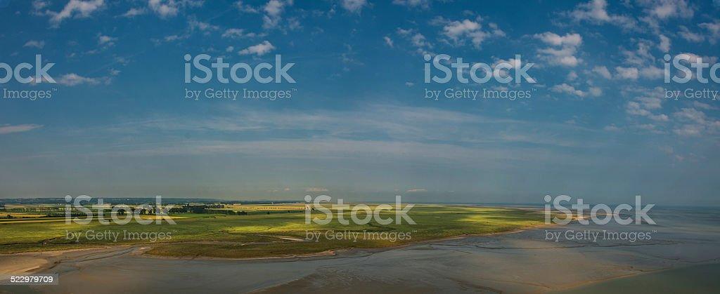 Landschaft in Frankreich stock photo