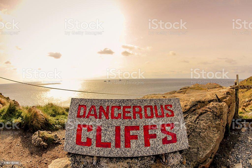 Landsend Cliff royalty-free stock photo