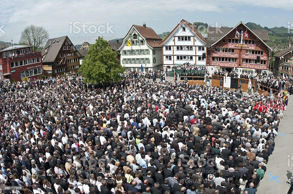 Landsgemeinde in Appenzell, Schweiz – Foto