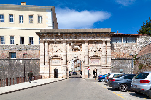 Landward Gate In Zadar Stock Photo - Download Image Now