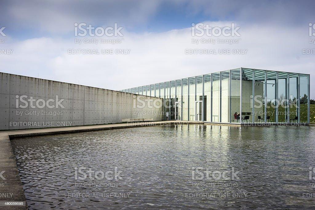 Langen foundation, Stock image stock photo
