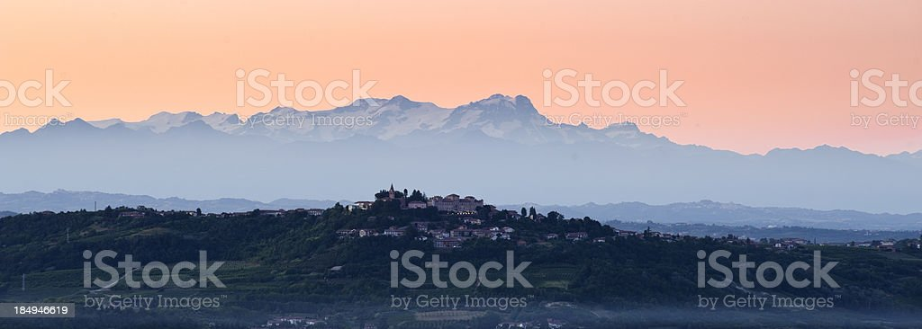 Langhe, Italy royalty-free stock photo
