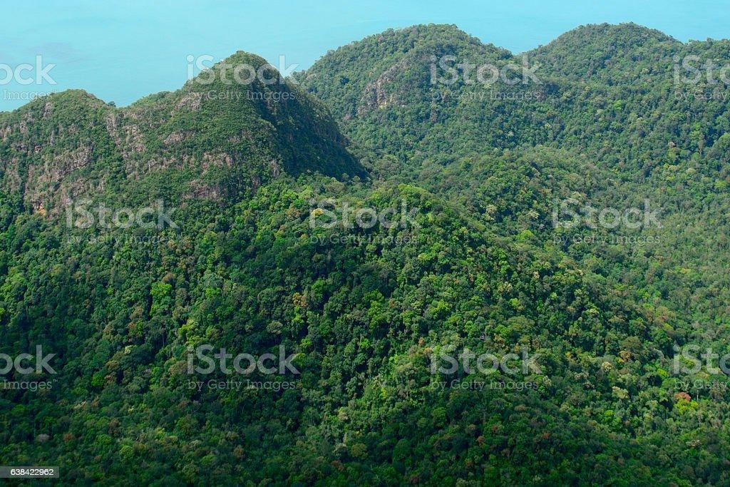 Langkawi archipelago, Malaysia stock photo