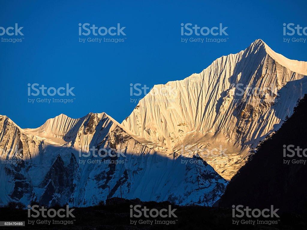 Langtang National Park,Nepal stock photo