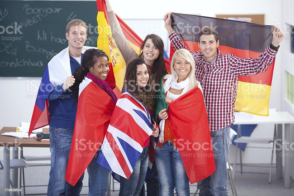 Language school. royalty-free stock photo