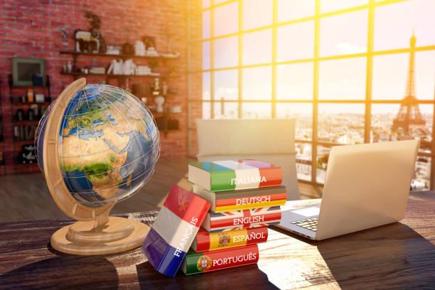 Sprachen lernen und übersetzen, Kommunikation und Reise-Konzept – Foto