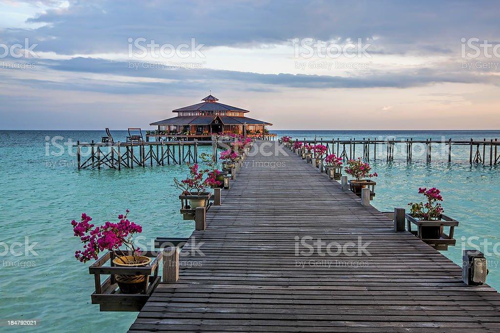 Lankayan Island stock photo