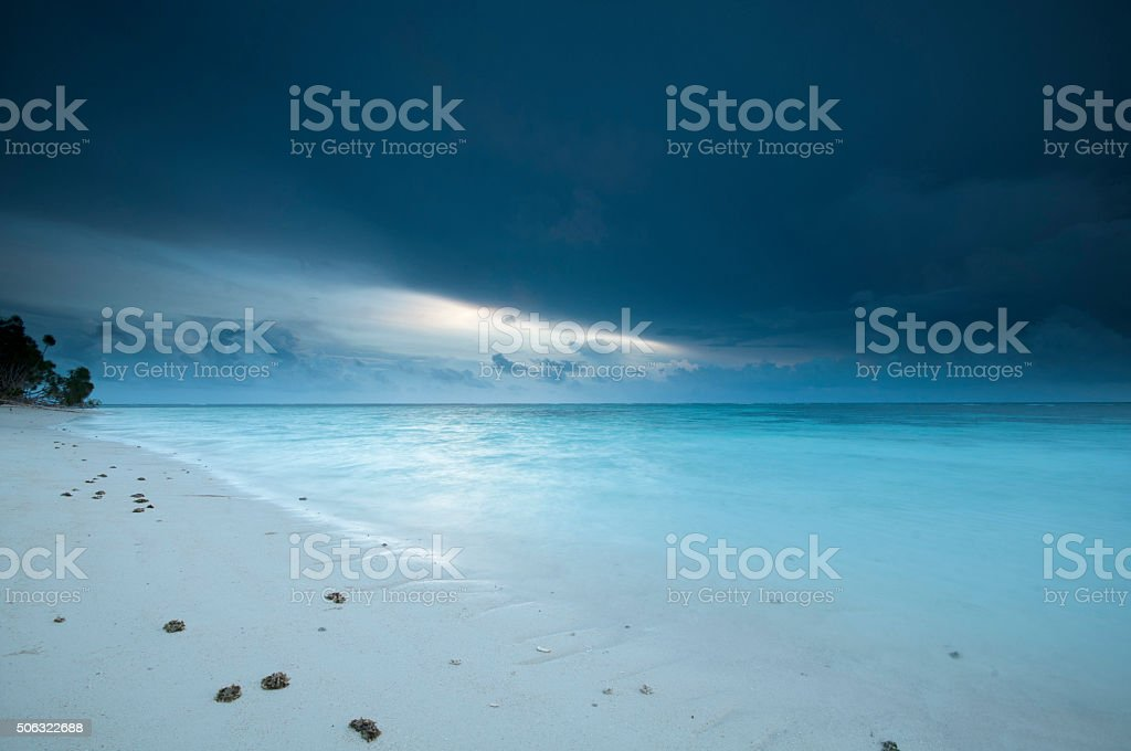 Lankayan Sunrise stock photo