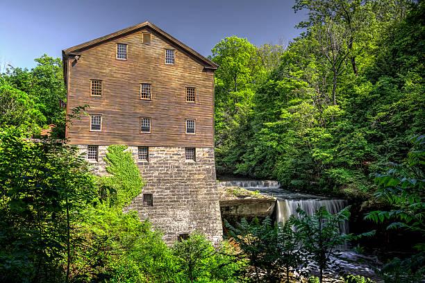 Lanterman's Mill stock photo