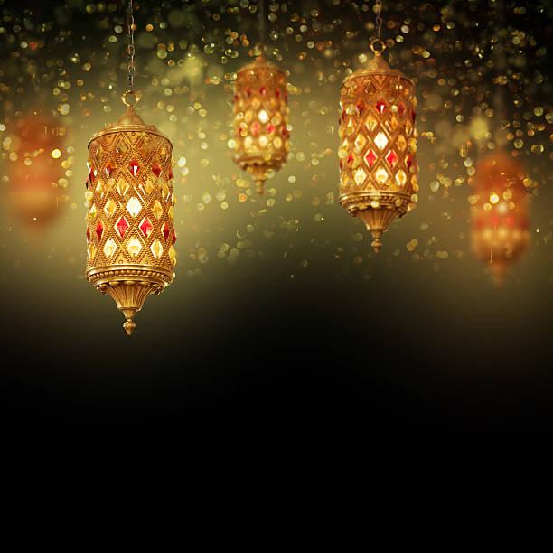 Lantern Ideal for Ramadan concept - foto de acervo