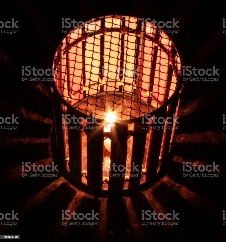 lantern light star royalty-free stock photo