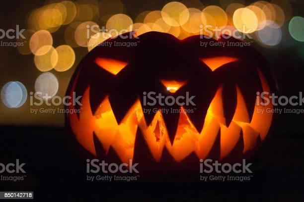 Lantern of jack an ominous terrible scary spooky pumpkin with a for picture id850142718?b=1&k=6&m=850142718&s=612x612&h=jq8pjeyaen dd8pvk81je6trpuxnpdp9uxqfntp fce=