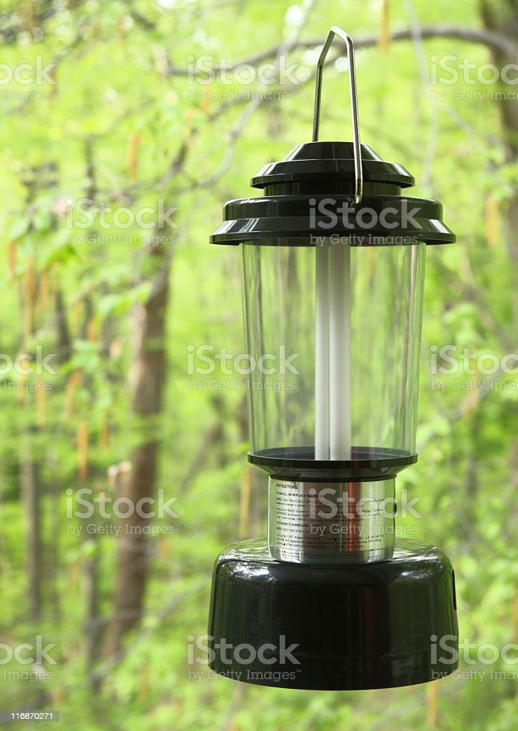 Lantern Outdoor Camp Lighting Equipment royalty-free stock photo