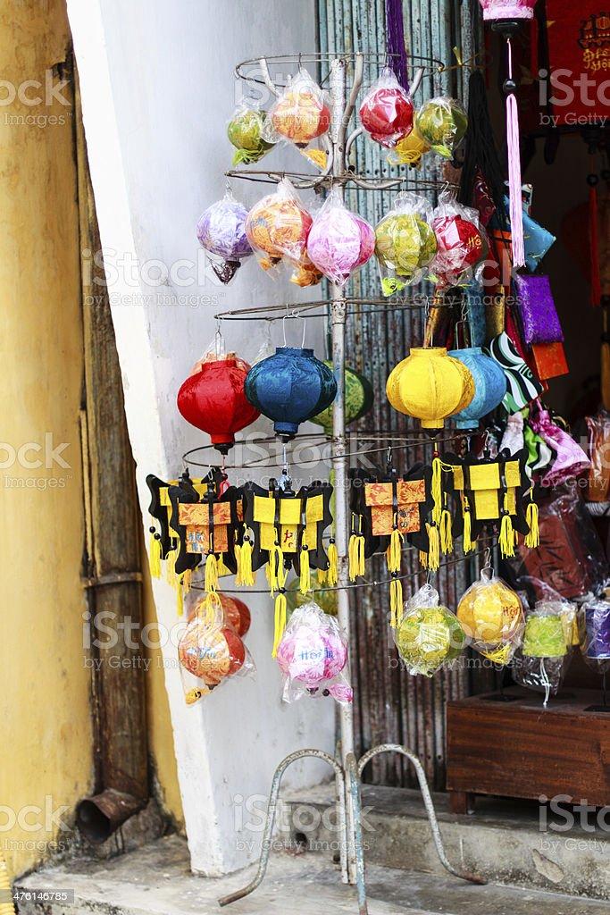 Lantern Shop royalty-free stock photo