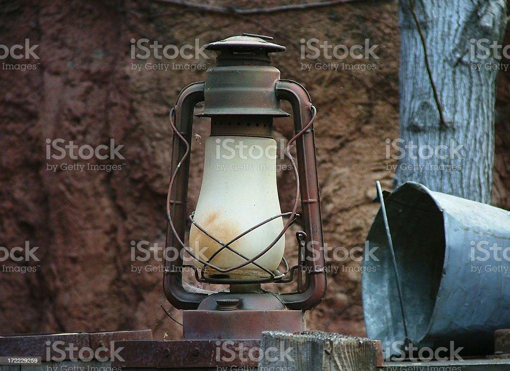 Lantern Still Life stock photo