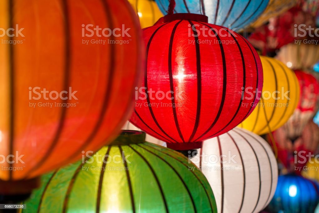 Lanterns asia stock photo