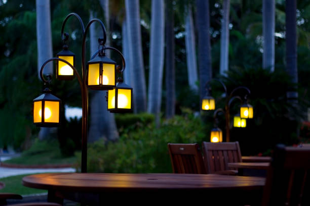 Lanterns by Tables
