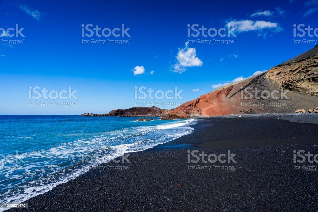 Lanzarote, Kanarische Inseln Lizenzfreies stock-foto