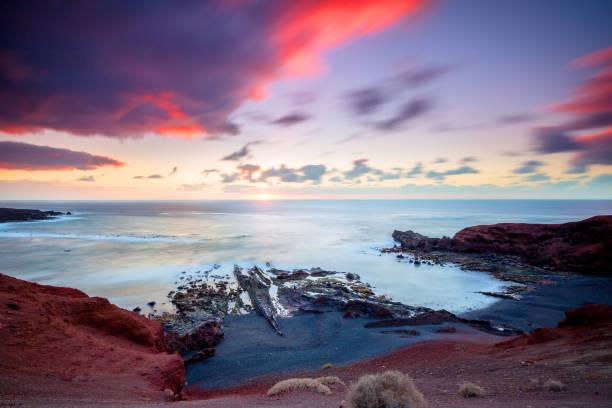 Lanzarote - Küste von El Golfo – Foto