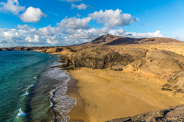 Lanzarote - Costa de Papagayo stock photo