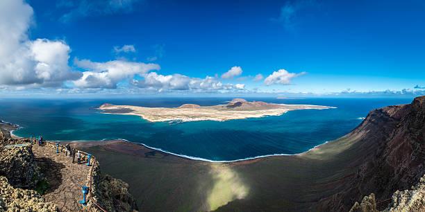 Lanzarote, Mirador del Rio stock photo