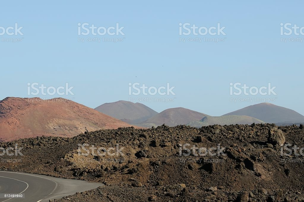 lanzarote stock photo