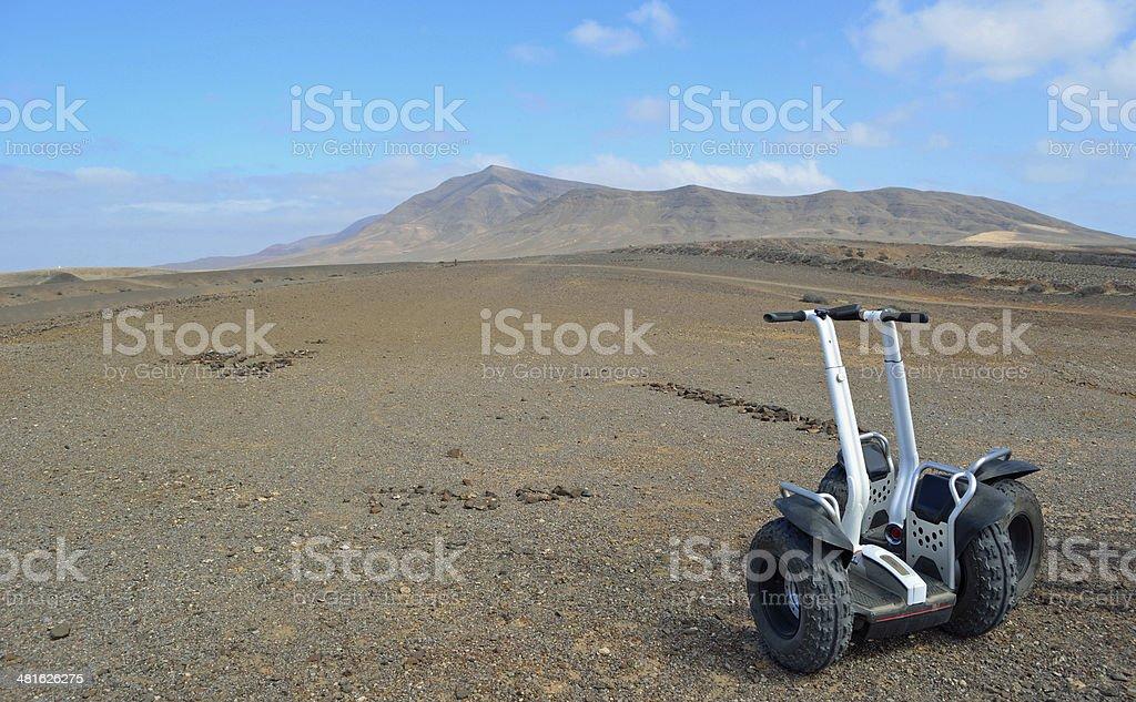 Lanzarote Segway stock photo
