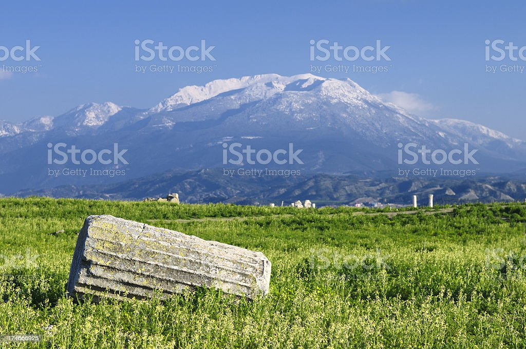 Laodicea, Denizli, Turkey stock photo