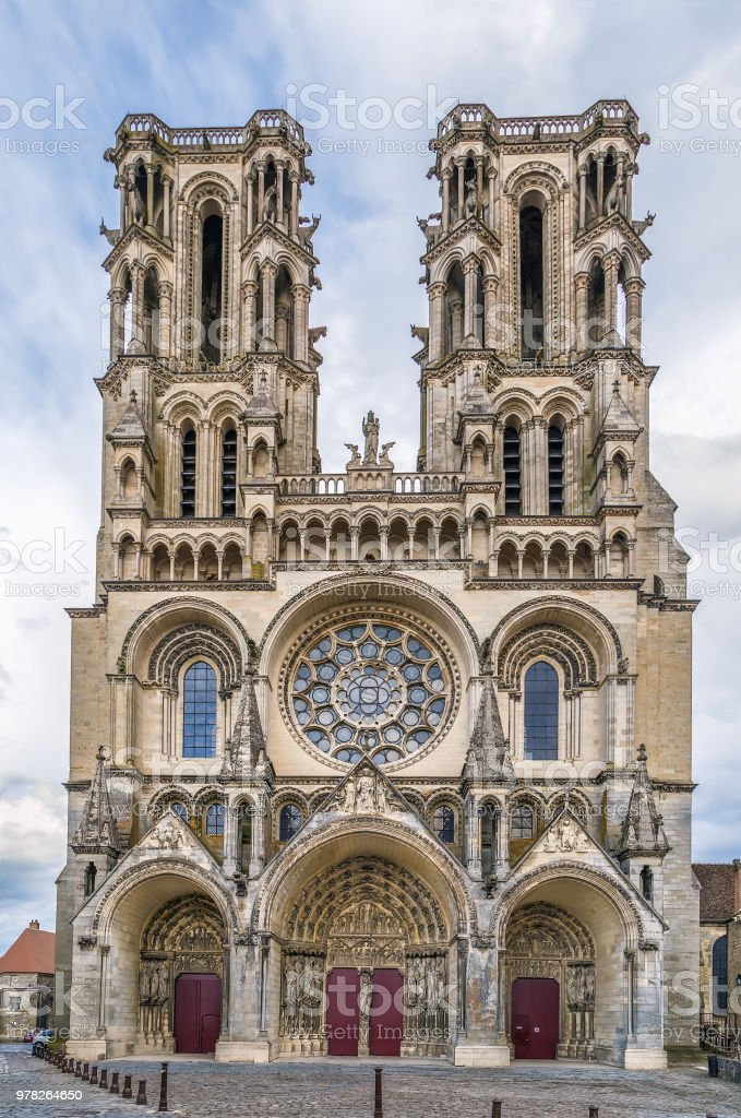 Laon Cathedral France Stock Photo - Download Image Now - iStock