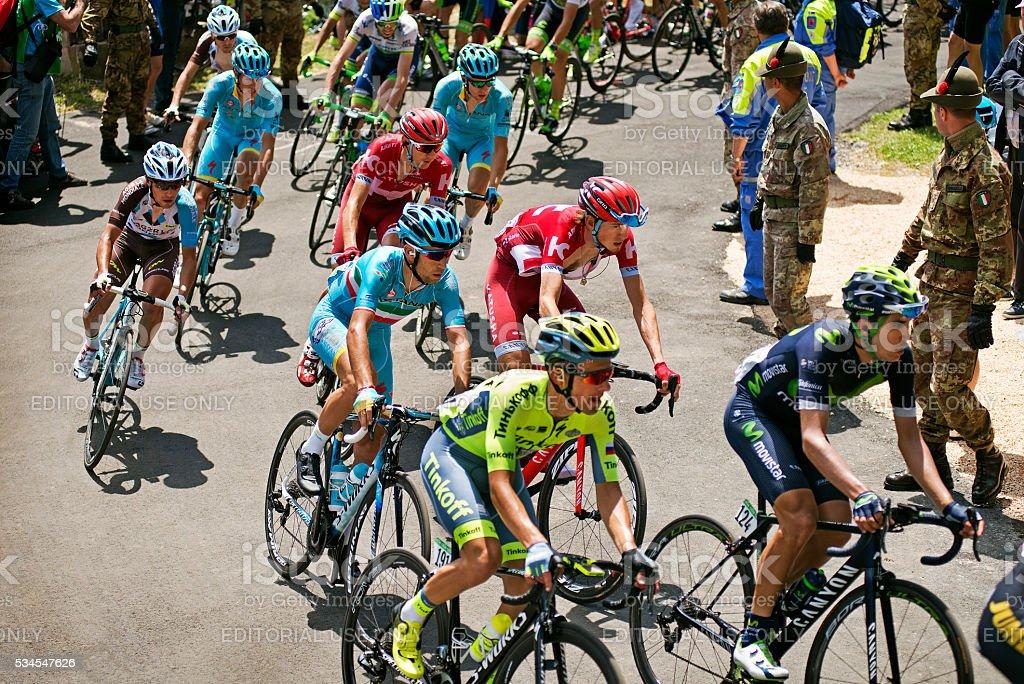 Giro 2016 stock photo