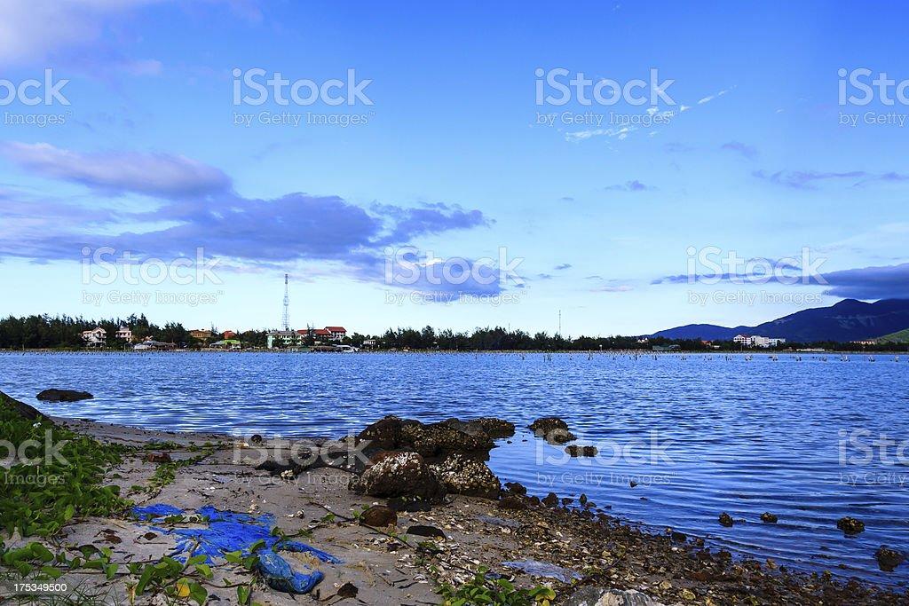 Lap An pond stock photo