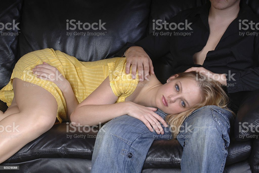 Lap dancer royalty-free stock photo