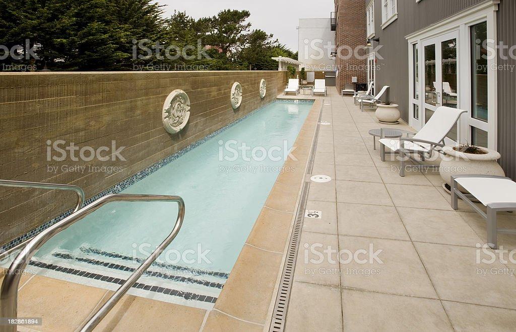 Lap Pool stock photo