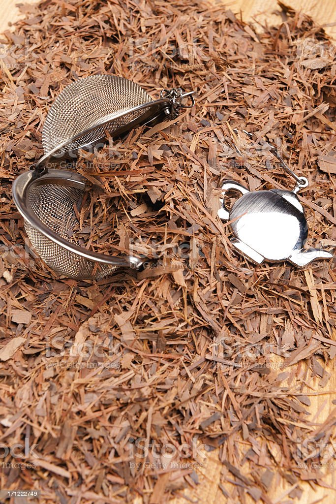 Lapacho Tea royalty-free stock photo