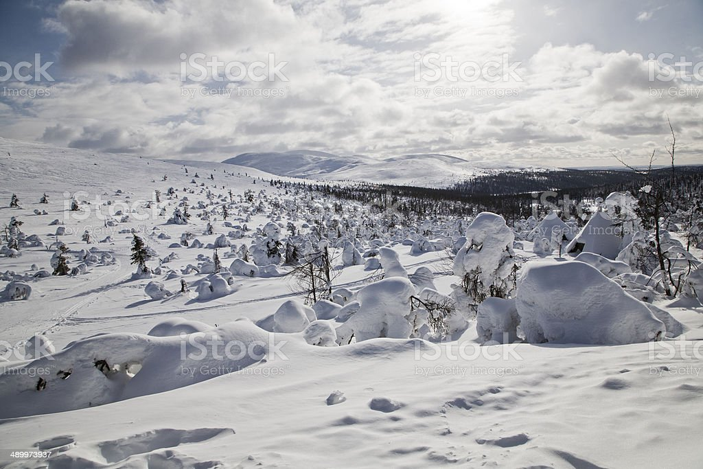 Lapland, Finland royalty-free stock photo