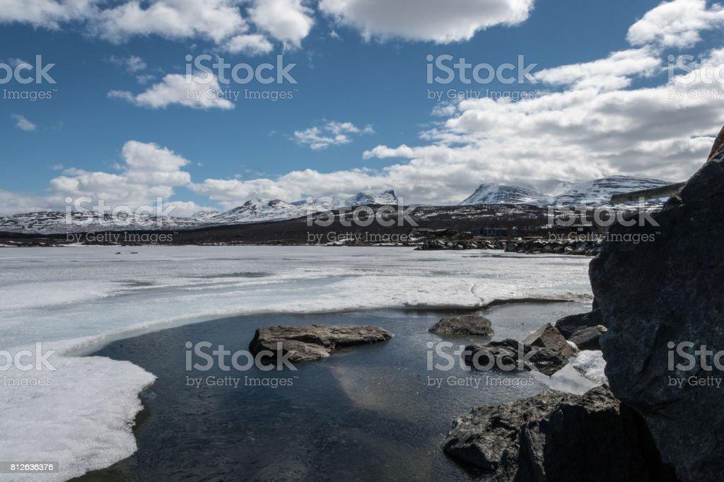 Lapporten & gefrorene Wasser 2 – Foto