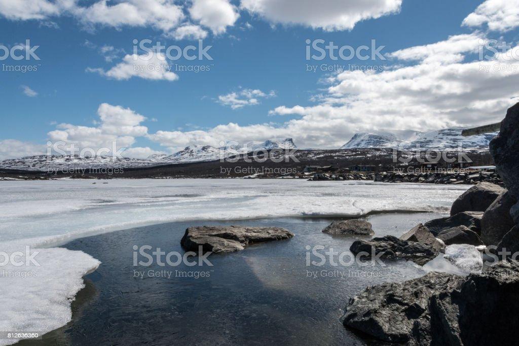 Lapporten & gefrorene Wasser 3 – Foto