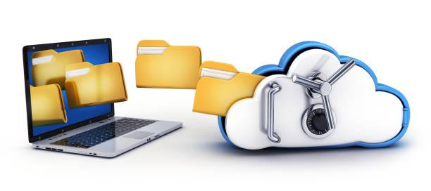Laptop und Cloud-Sicherheit – Foto